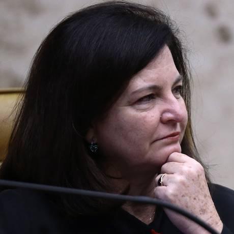 A procuradora-geral da República, Raquel Dodge, durante sessão do Supremo Foto: Jorge William/Agência O Globo/01-03-2018