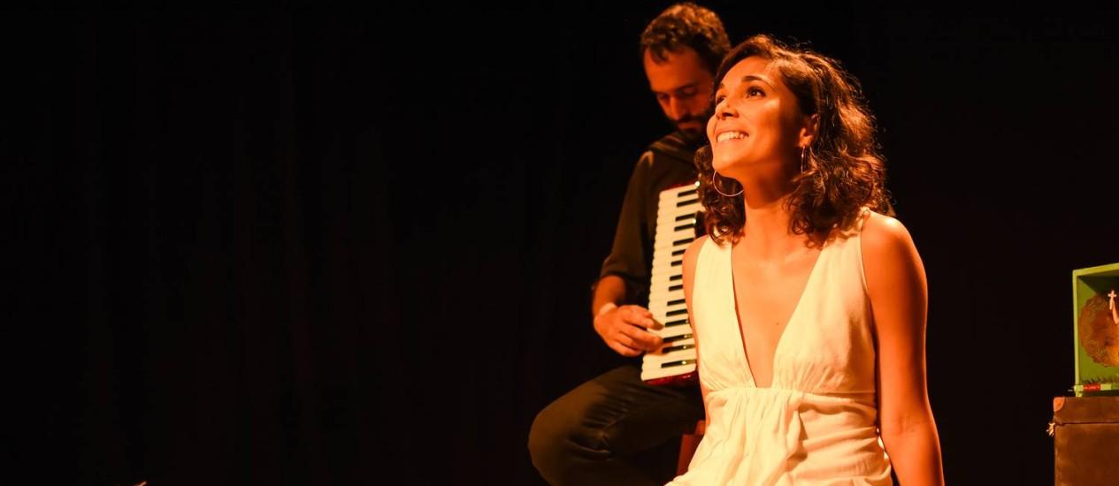 Claire Nativel: sua vida nos palcos Foto: Divulgação/Flavia Lamego