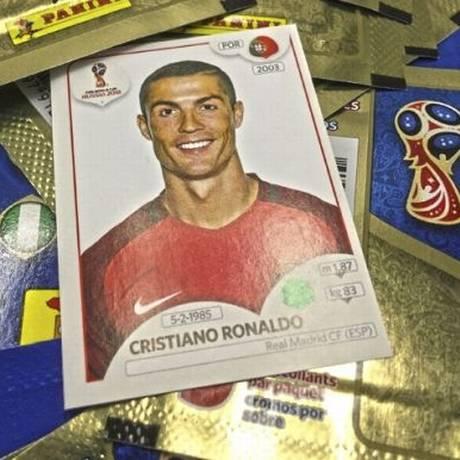 Imperdível. Álbum de figurinha da Copa do Mundo da Rússia Foto: Divulgação/ Panini