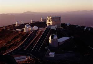 Observatório de La Silla, no Chile, é um dos complexos operados pelo ESO Foto: ESO/H.Zodet