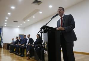 Rivaldo defende mais recursos para a Polícia Civil Foto: Antonio Scorza / Agência O Globo