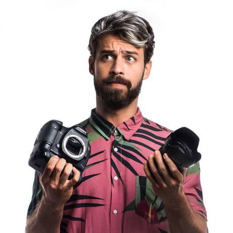 Raul Aragão: viagens e flagras do fotógrafo são sucesso nas redes Foto: Leo Neves