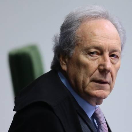 O ministro Ricardo Lewandowski, durante sessão da Segunda Turma do STF Foto: Jorge William / Agência O Globo