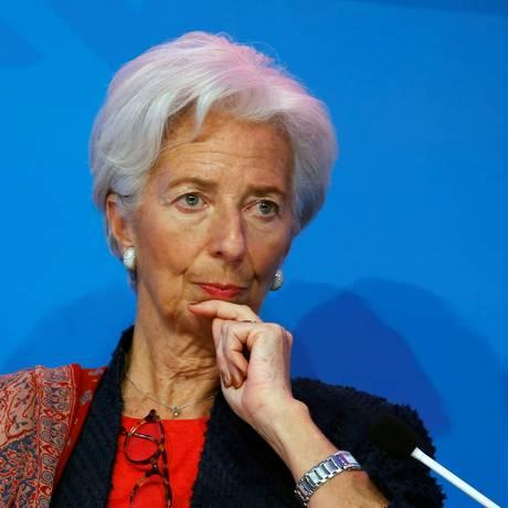 A diretora-gerente do FMI, Christine Lagarde Foto: Beawiharta Beawiharta / REUTERS/27-2-2018