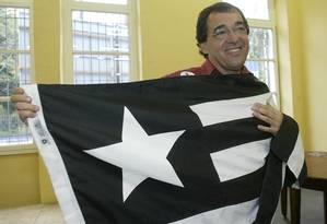 Bebeto de Freitas foi presidente do Botafogo Foto: Ivo Gonzalez
