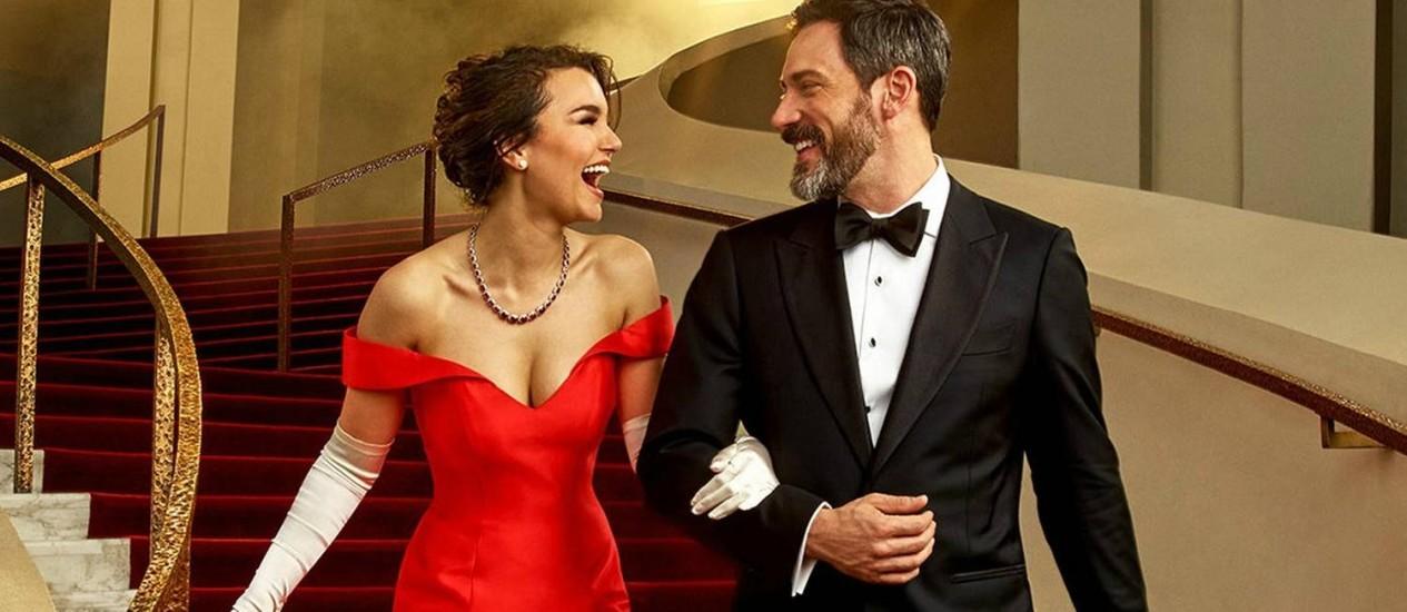 """Samantha Barks e Steve Kazee, no musical """"Pretty woman"""" Foto: Divulgação / Andrew Eccles"""