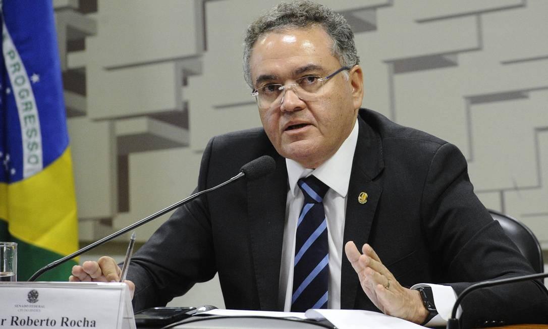 O senador Roberto Rocha (PSDB-MA) Foto: Marcos Oliveira/Agência Senado