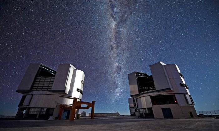 Brasil é excluído de consórcio de astronomia