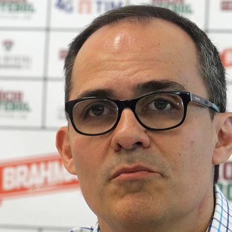 Marcelo Teixeira e Pedro Abad foram convocados para reunião do Conselho Deliberativo Foto: Nelson Perez / Fluminense / 25.05.17