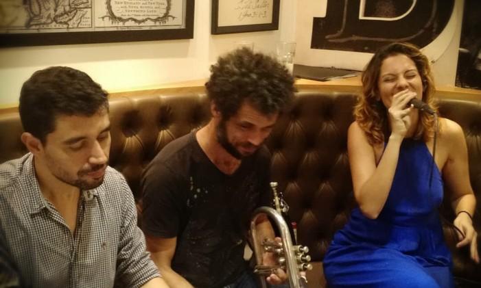 Adaury Mothé (piano), José Arimatéa (trompete e flugelhorn) e Luana Mallet (voz) Foto: Divulgação