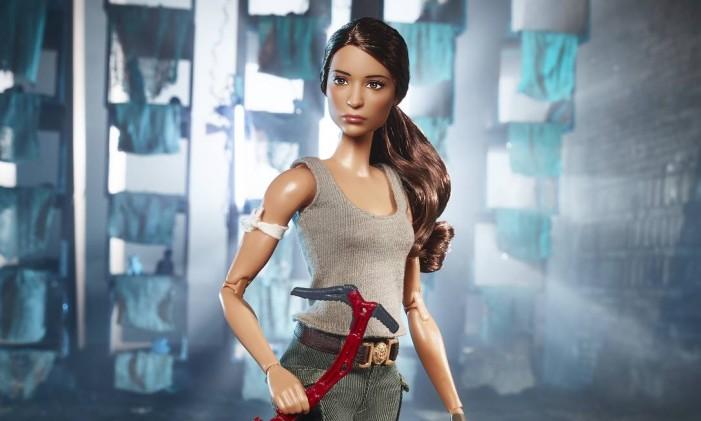 Barbie de Tomb Raider Foto: Divulgação/Sheryl Paul