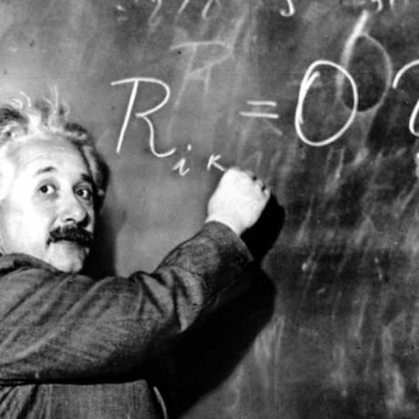Einstein: alemão morreu na mesma data de Hawking, 14 de março Foto: Reprodução