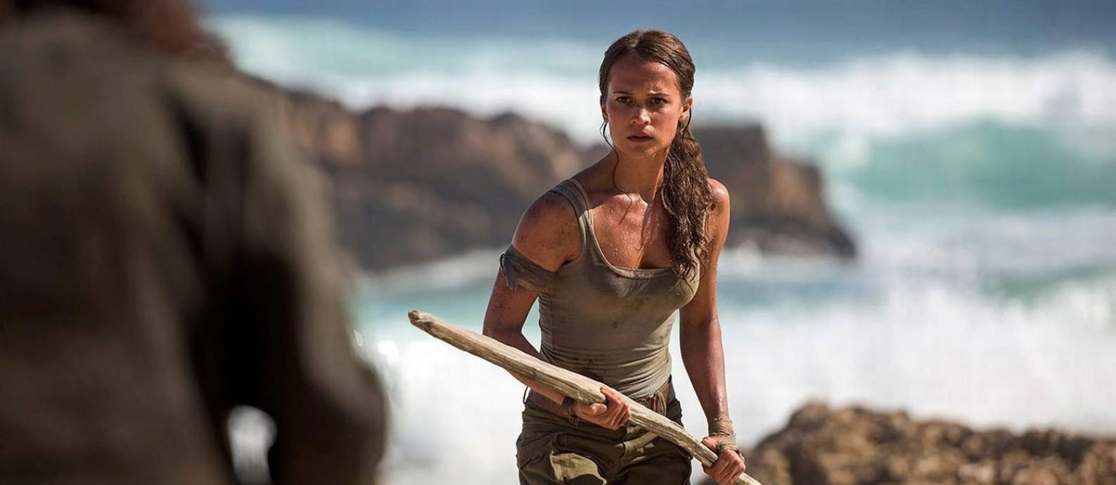 Cena do filme 'Tomb Raider - A origem' Foto: Divulgação