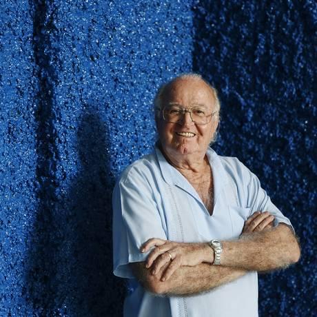Edino Krieger: aos 90 anos, homenagem de familiares e amigos Foto: Camilla Maia / Camilla Maia