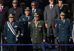 Posse do novo comandante geral da PM, Coronel Luiz Claudio Laviano Foto: Uanderson Fernandes / Agência O Globo