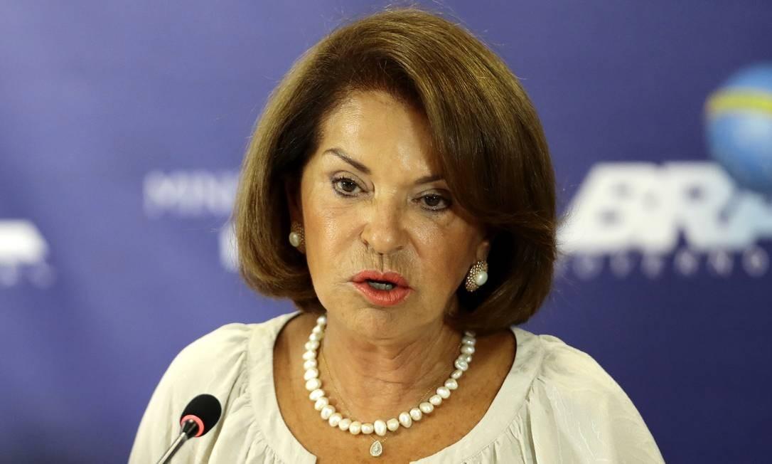 Maria Helena Guimarães, secretária-executiva do MEC Foto: Jorge William / Agência O Globo