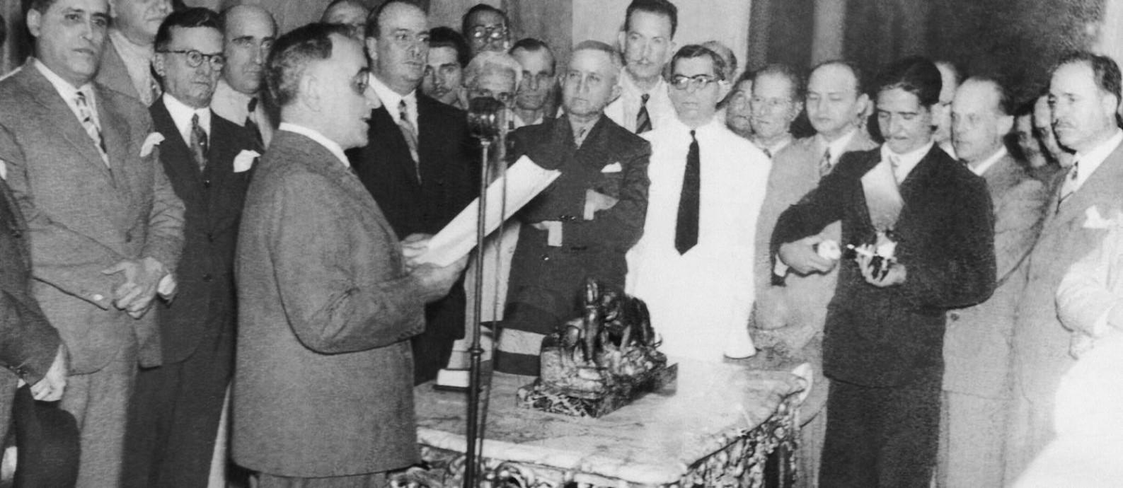 Cena do filme 'Imagens do Estado Novo — 1937-45' Foto: Divulgação