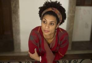 Vereadora Marielle Franco (PSOL) Foto: Márcia Foletto / Agência O Globo
