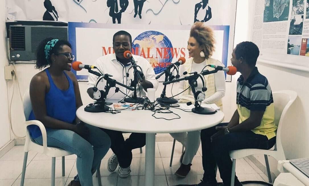 Em setembro, ela participou de uma entrevista na rádio Mundial News Foto: Divulgação/PSOL