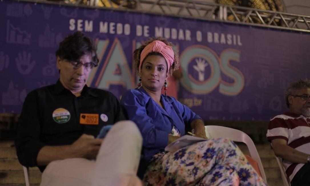 Marielle integrou mesa de debate sobre economia em setembro Foto: Divulgação/PSOL