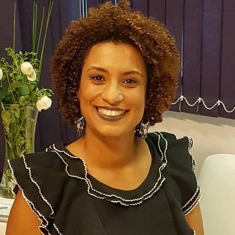 Marielle Franco se elegeu em 2016 com um resultado expressivo não só pela quantidade de votos — foi a quinta mais bem votada, com o apoio de 46 mil eleitores Foto: Reprodução do Facebook