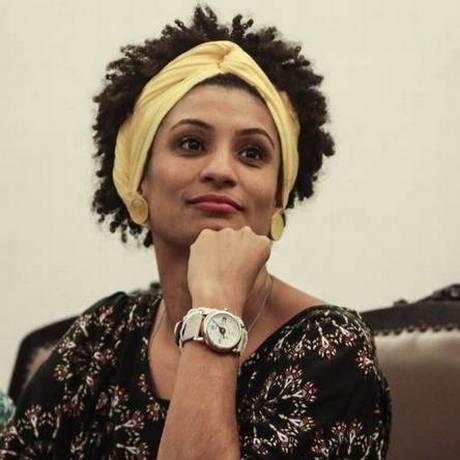 Marielle Franco, vereadora do PSOL assassinada a tiros no Rio Foto: Reprodução do Facebook