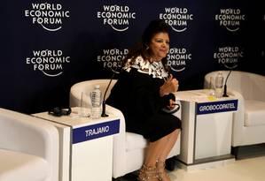 Luiza Trajano, Chairwoman of the Board of Directors of Magazine Luiza retail store, attends the World Economic Forum on Latin America in Sao Paulo, Brazil March 14, 2018. REUTERS/Paulo Whitaker Foto: PAULO WHITAKER / REUTERS