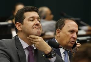 O deputado Betinho Gomes (PSDB-PE), na Comissão de Constituição e Justiça da Câmara Foto: Ailton de Freitas/Agência O Globo/03-05-2017