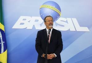 O ministro da Segurança Pública, Raul Jungmann, no Palácio do Planalto Foto: Ailton de Freitas/Agência O Globo/07-03-2018