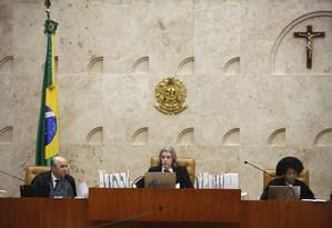 A ministra Cármen Lúcia preside sessão do STF Foto: Rosinei Coutinho/STF