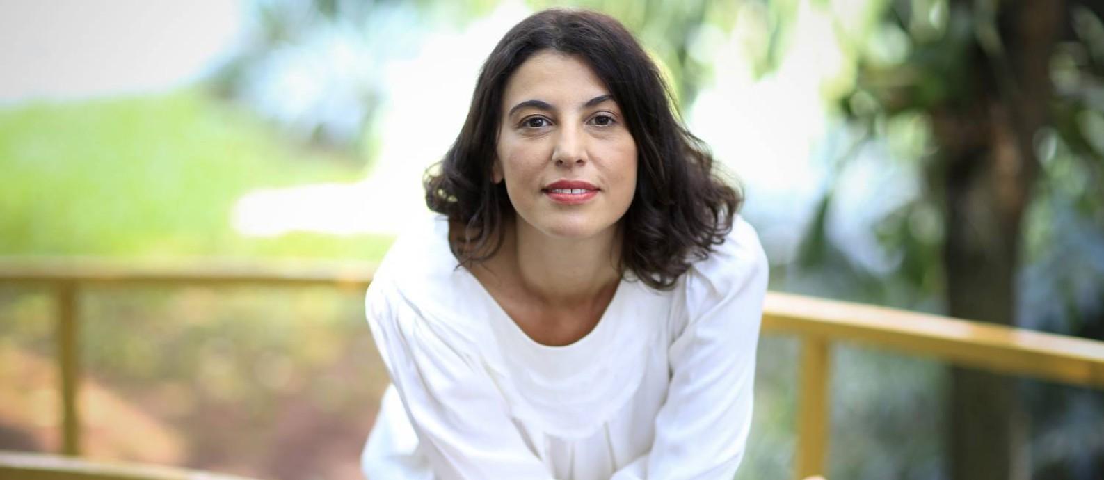Escritora Giovana Madalosso Foto: Edilson Dantas / Agência O Globo