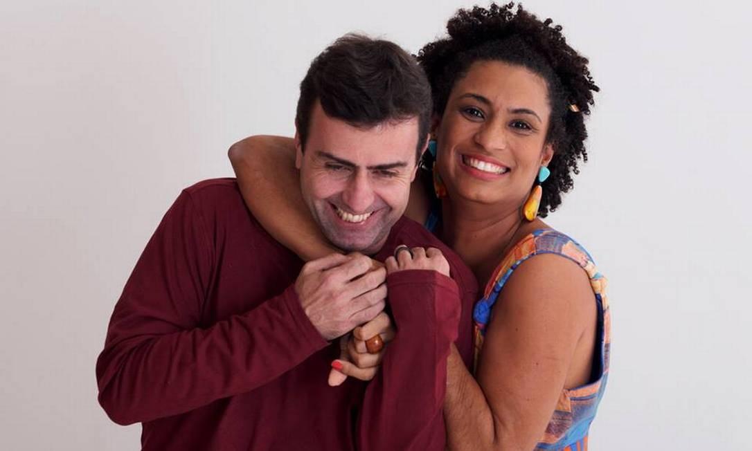 Marcelo Freixo e Marielle Franco Foto: Facebook / Reprodução