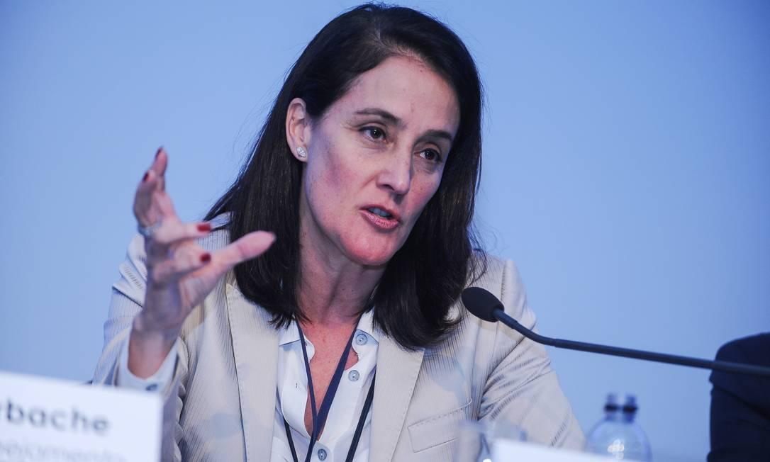 Eliane Lustosa, diretora do BNDES Foto: Nilani Goettems / Agência O Globo