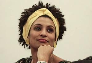 Marielle Franco, vereadora do PSOL, foi assassinada a tiros no Rio Foto: Reprodução do Facebook