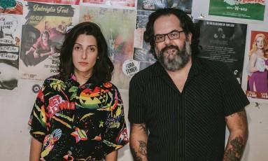 Clarice Falcão e João Erbetta Foto: Divulgação