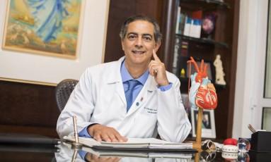 Curador do projeto, o cardiologista Cláudio Domênico destaca a importância de se investir cada vez mais em prevenção a doenças Foto: Barbara Lopes