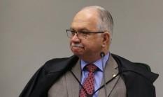 O ministro Edson Fachin preside sessão da Segunda Turma do Supremo Foto: Ailton de Freitas/Agência O Globo/13-03-2018