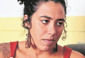 Abalada. Professora de História, Talíria Petrone conheceu a amiga Marielle Franco quando dava aulas na Maré Foto: Thiago Freitas/26-04-2017 / Agência O Globo
