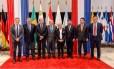 Ministros de países membros do Mercosul se reúnem no Paraguai Foto: Reprodução/Facebook