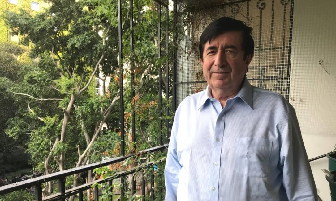 Vida nômade: Durán Barba vive entre Buenos Aires, Washington, Quito e a Cidade do México: consultoria divide espaço com as aulas Foto: Janaína Figueiredo