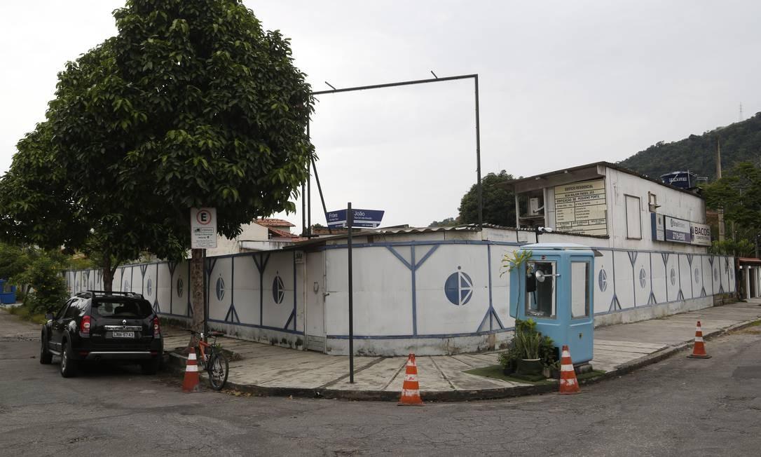 Terreno na Rua Major Fróes onde foi licenciada obra de edifício com 13 apartamentos Foto: Fábio Guimarães / Agência O Globo