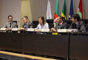 Procuradores da Lava-Jato apresentam balanço dos quatro anos da operação Foto: Divulgação