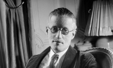 O escritor irlandês James Joyce Foto: Reprodução