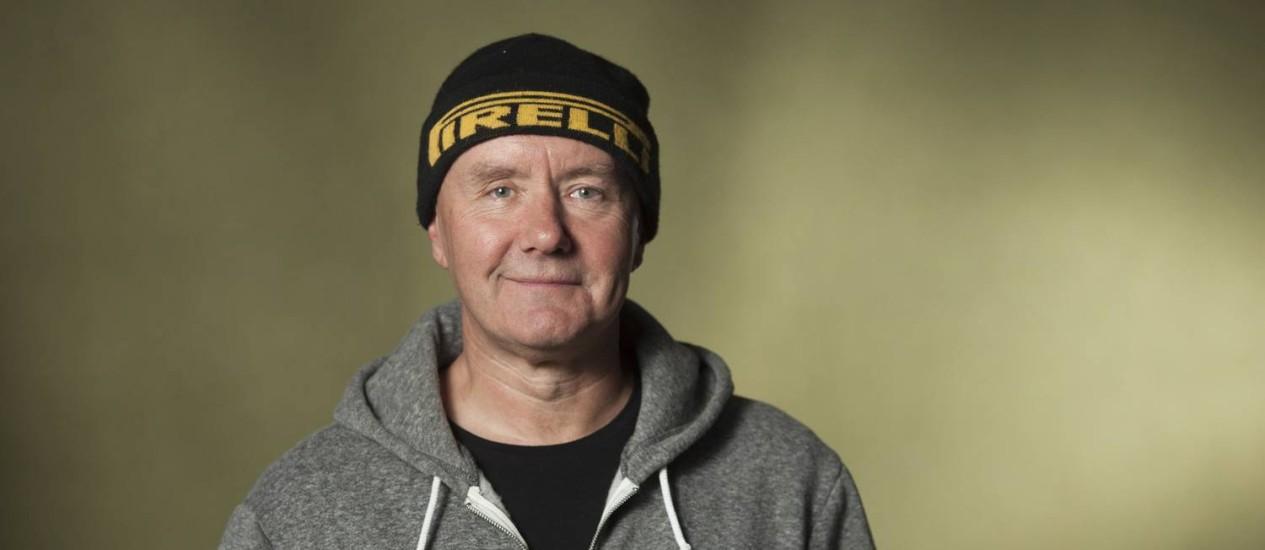 O escritor Irvine Welsh, em 2014, na Festival Internacional do Livro de Edimburgo Foto: Russell G Sneddon / Agência O Globo