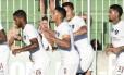 Douglas fez o único gol do Fluminense, de pênalti Foto: Mailson Santana/Fluminense FC