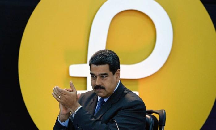 EUA proíbem uso da moeda digital da Venezuela