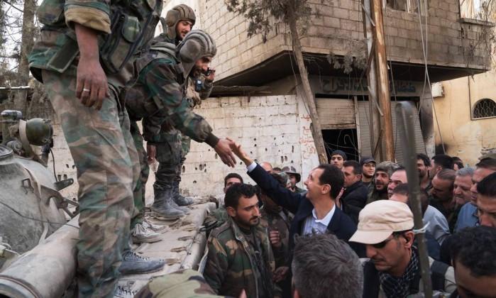 Síria: Grupo rebelde em Ghouta oriental anuncia cessar-fogo para negociações