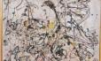 """Tela """"No. 16"""", de Jackson Pollock Foto: Divulgação"""