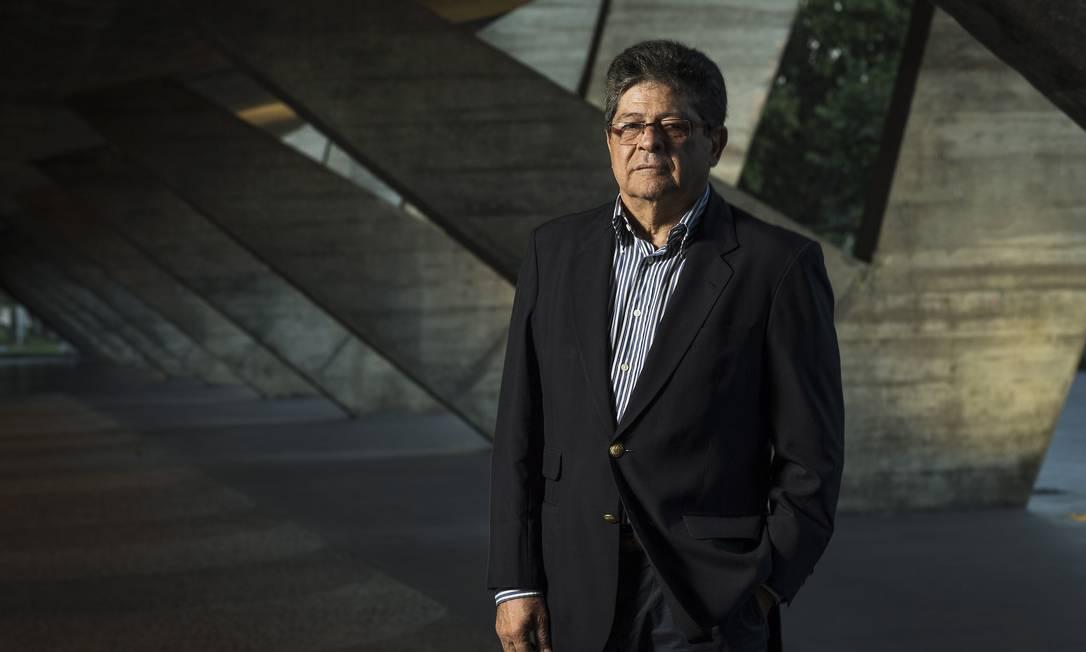Carlos Alberto Chateaubriand, presidente do MAM: ' Foto: Guito Moreto / Agência O Globo