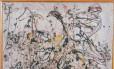 O quadro 'Nº16' de Jackson Pollock Foto: Divulgação